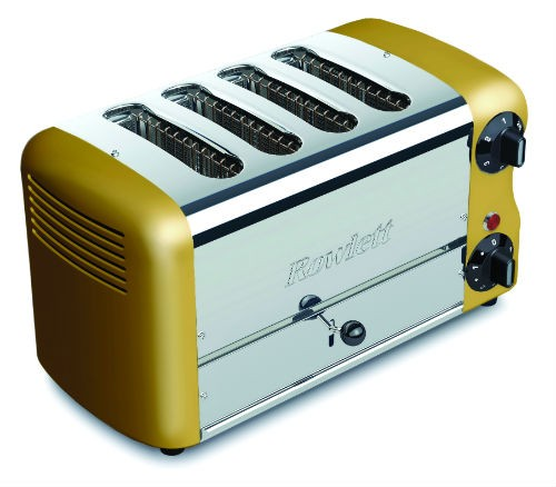 Toaster made by Rowlett Rutland in England
