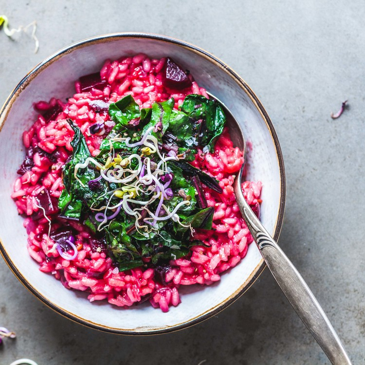 Red Beetroot Risotto