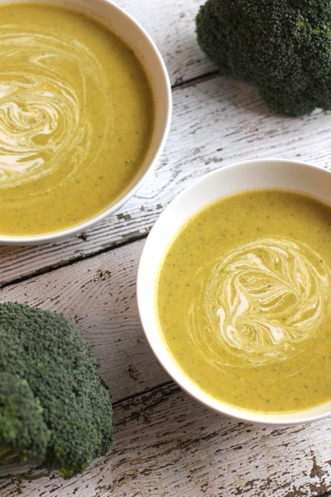 Cashew Cream of Broccoli Soup