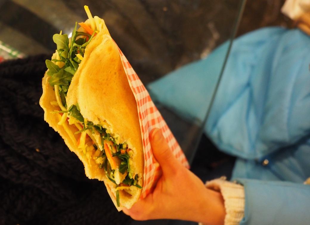 vegan crepe chelsea market