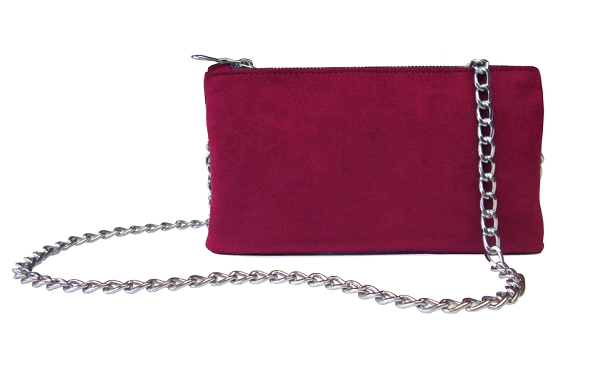 This clever little bag can be worn either as a wallet, crossbody or belt bag. It is both designed and made in Los Angeles, using ultrasuede and organic cotton. Find it   here  .