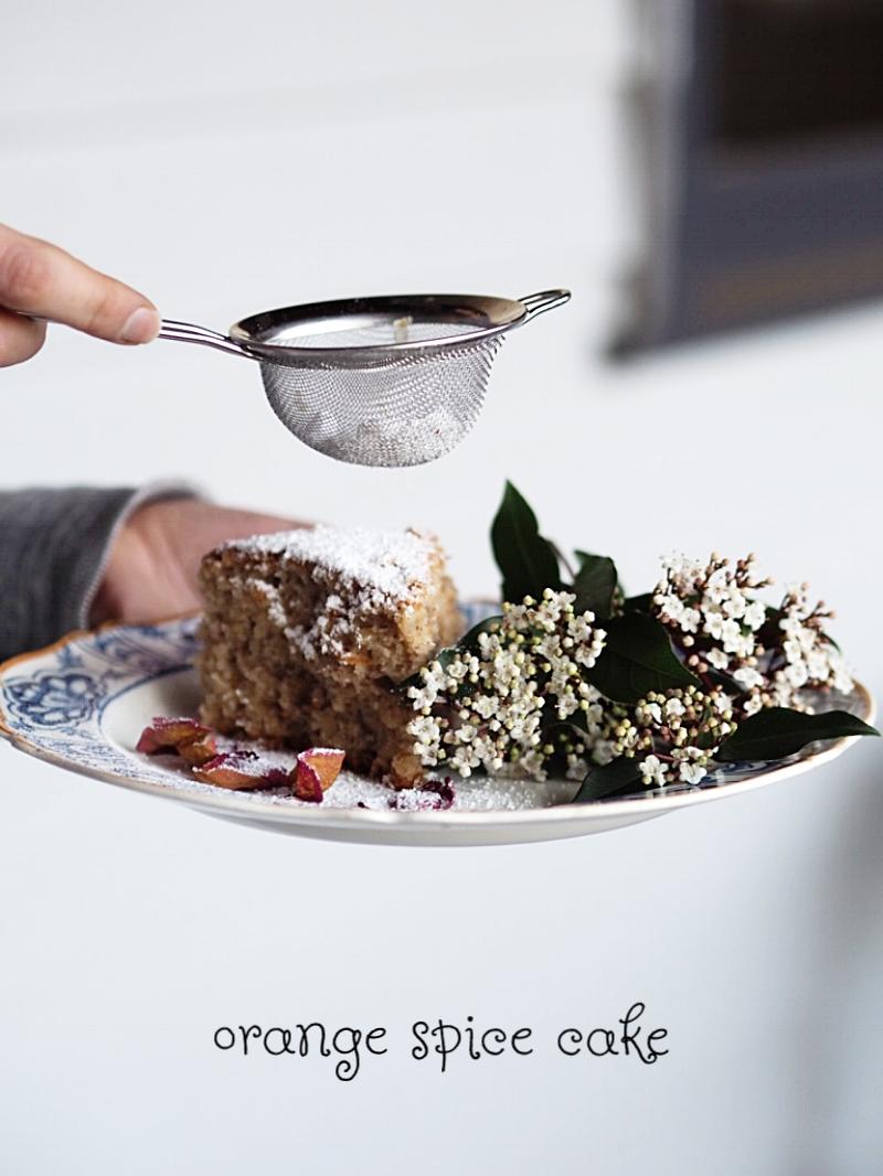 vegan orange cake recipe