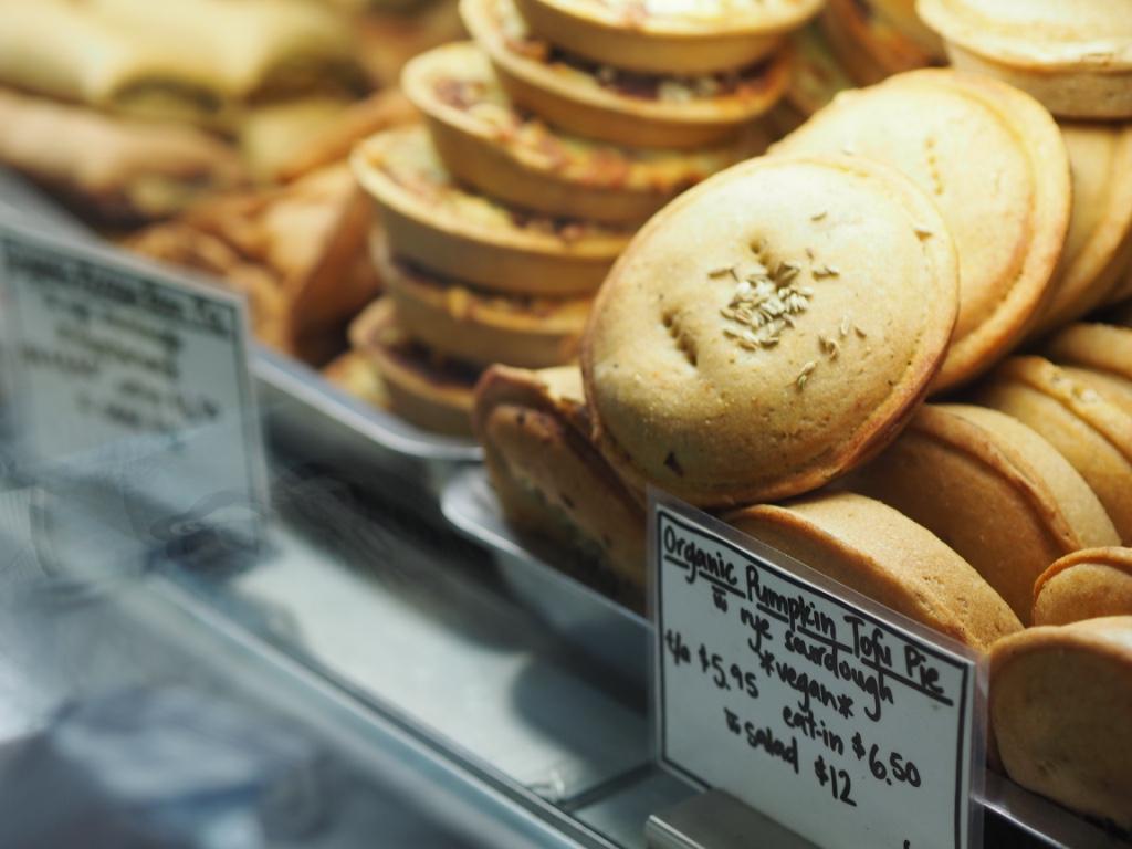 Vegan Pies At TOFWD