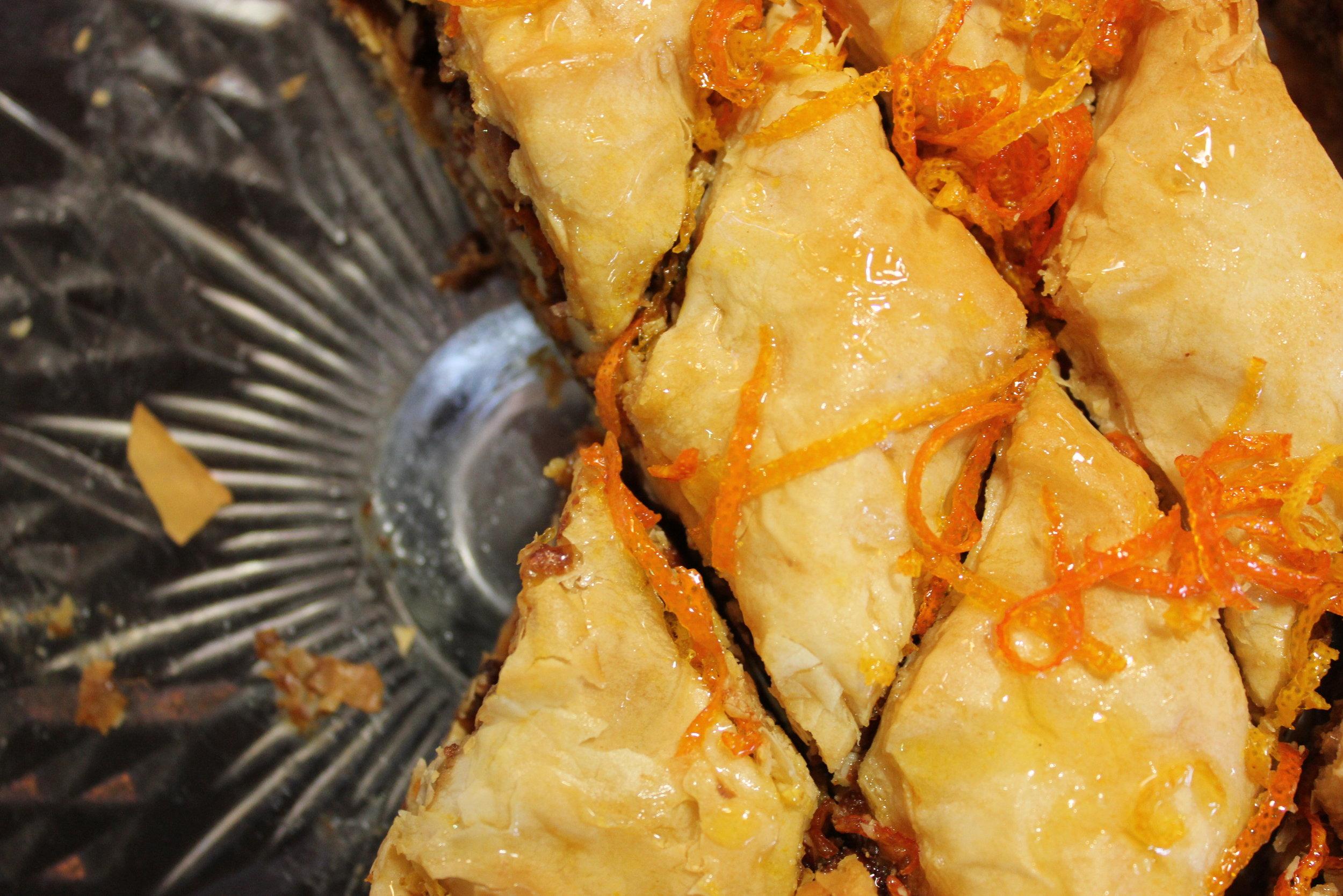 vegan citrus spiced baklava recipe dairyfree