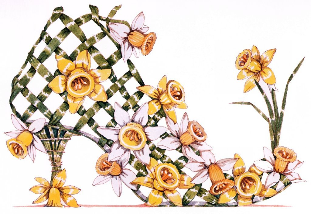 Or gift a print featuring Daffodils