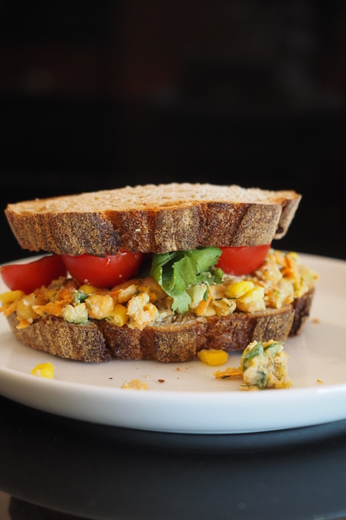 Vegan Chickpea Tuna Salad Sandwich