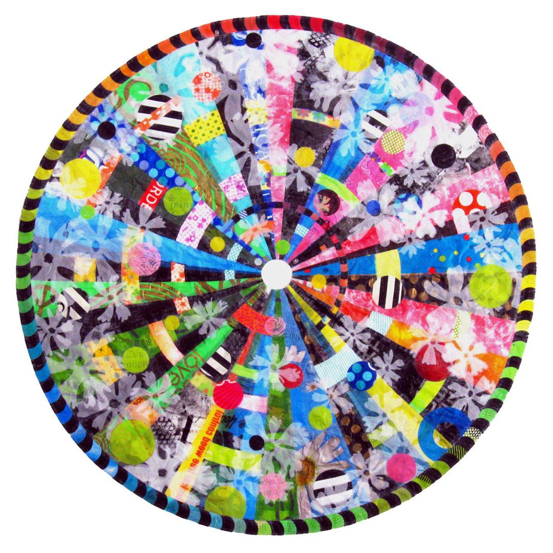 Turning Plastic Bags into Art: - Artist Virginia Fleckcreates beautyfrom chaos.