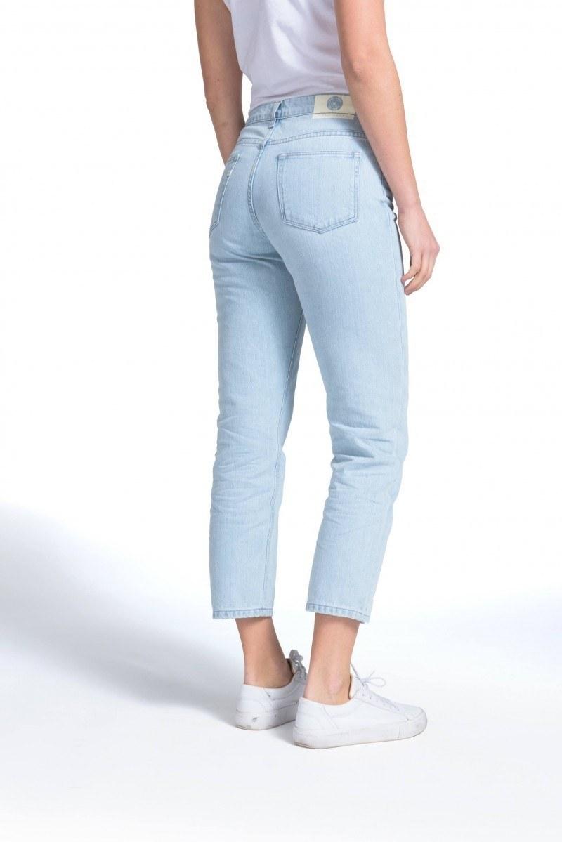 PETITE FIGURE: - Cropped Mimi Sun Stone(Mud Jeans)