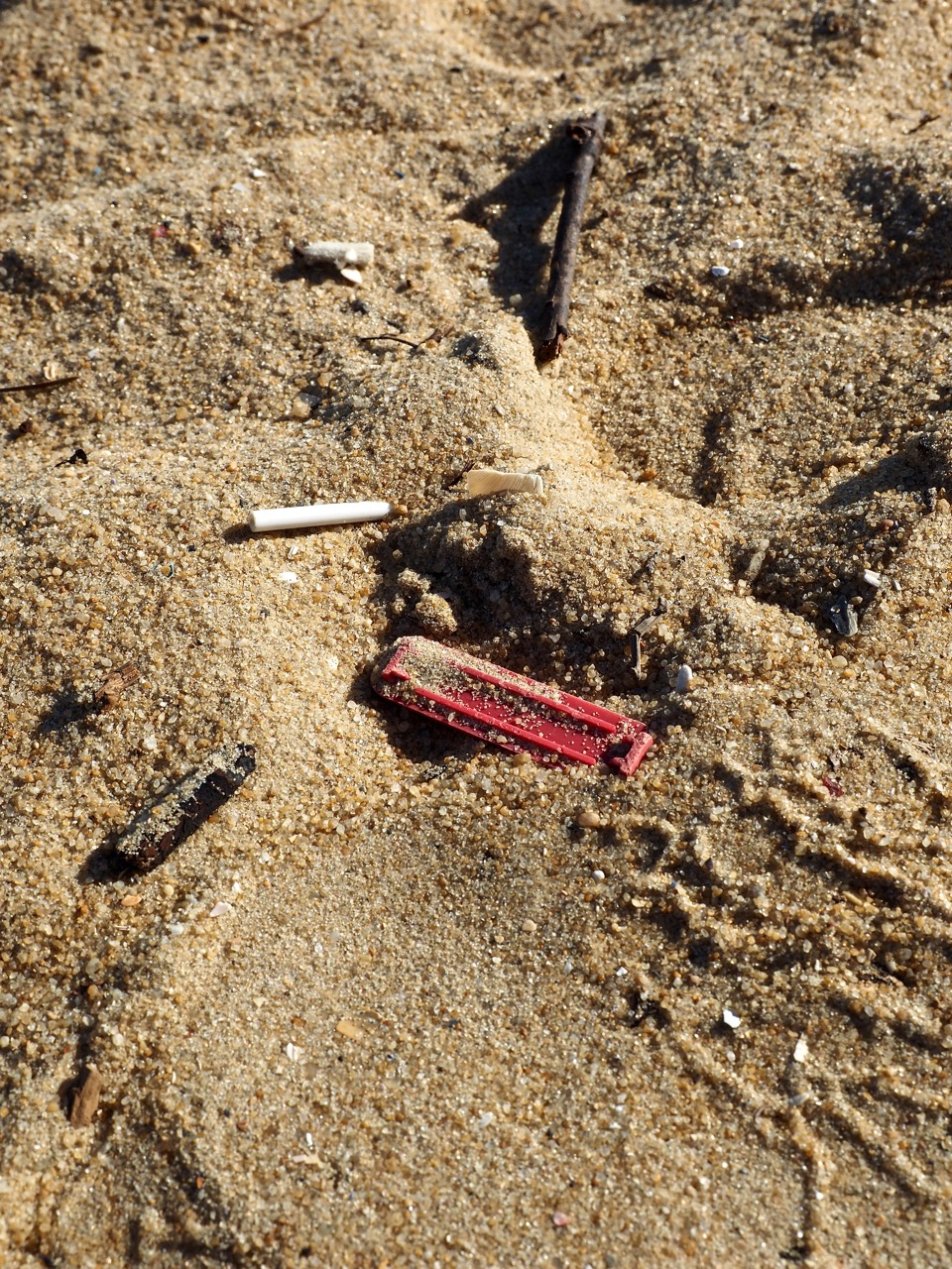 We really noticed the vast amount of plastic pollution at one of our local Melbourne beaches last weekend. Amongst the sand & shells, can you spot all the tiny flecks of plastic?