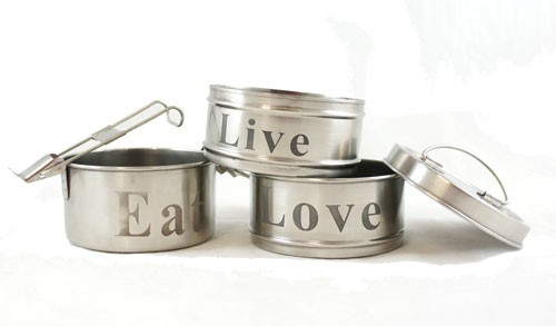 eco friendly Tiffin boxes are a traditional container for carrying lunch in India