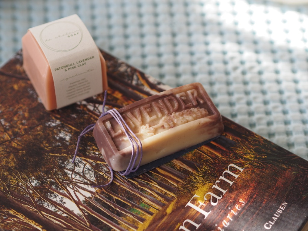 Plastic free vegan beauty products like these soaps are getting easier and easier to find.