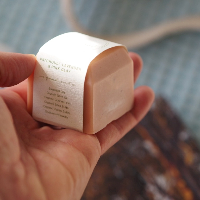 de Chalain soap bars - These are seriously luscious soaps - and gentle enough to use as a face cleanser.