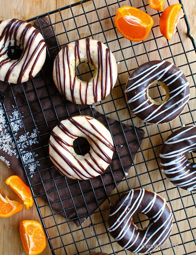 2: Orange Poppy Seed Doughnuts - My Darling Vegan