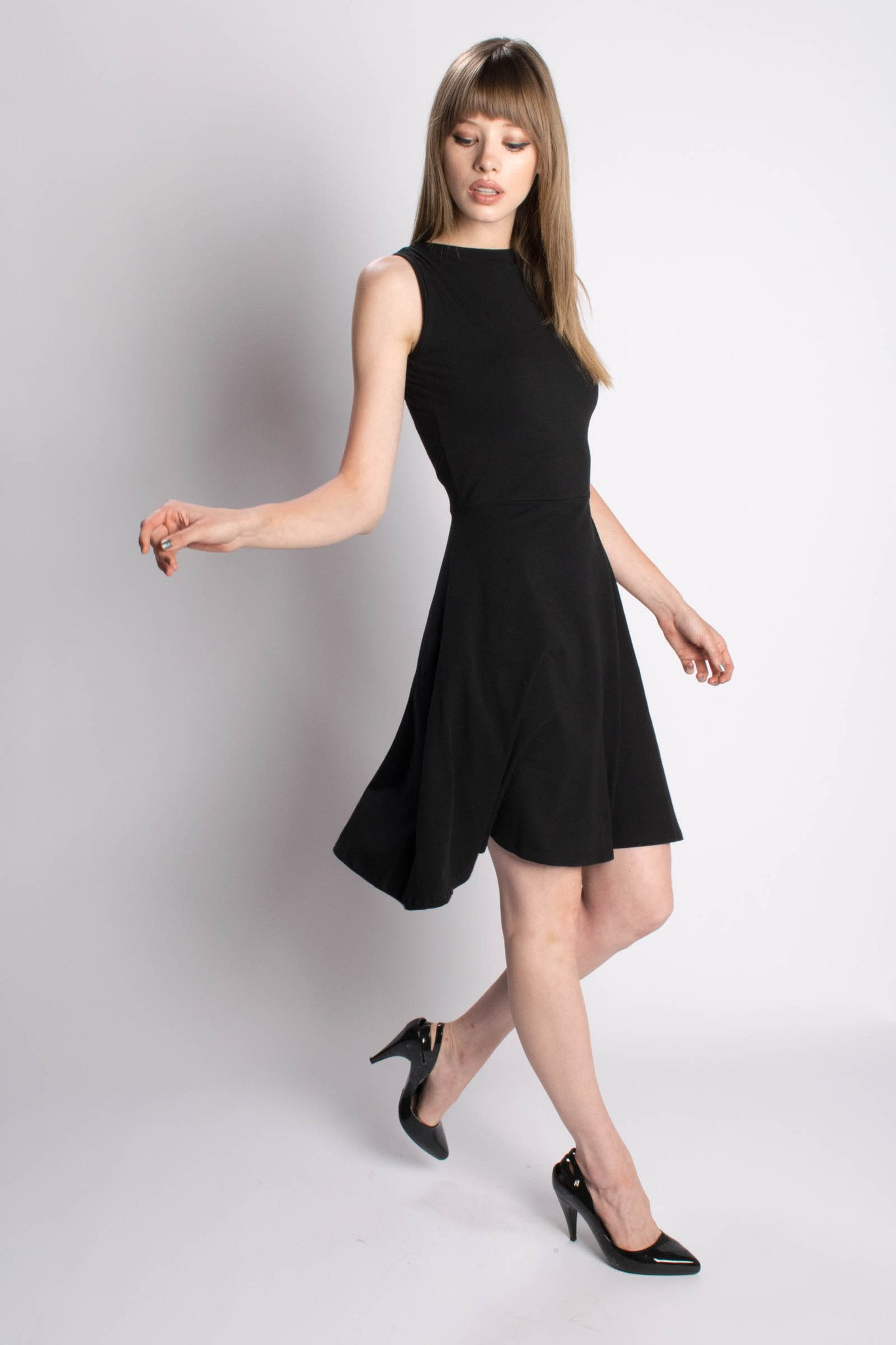 Eco friendly dress, made ethically from organic cotton - Maggie's Organics fair trade brand from Bead & Reel.