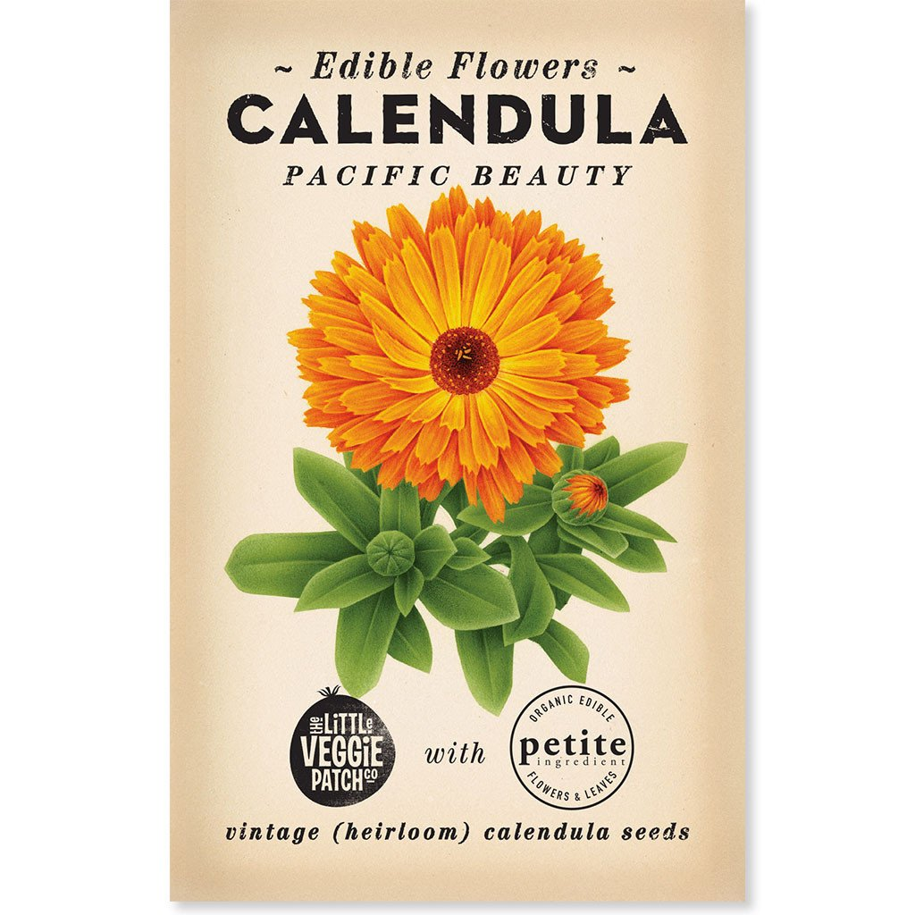 Heirloom Calendula seeds