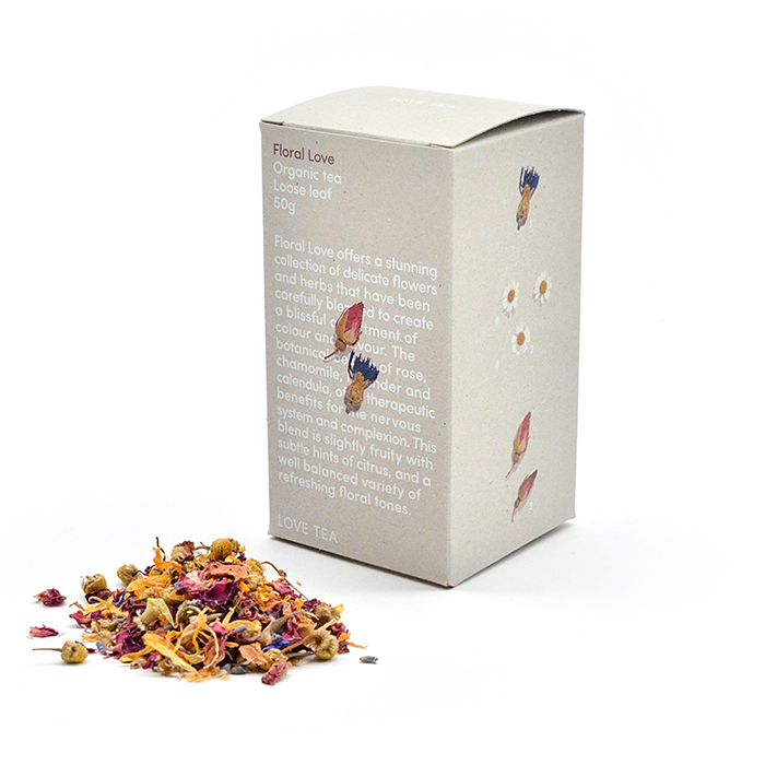 Calendula tea - Either dry your own organic marigold leaves to make a herbal tincture, or find a blend which combines them with other flowers. We love this one!