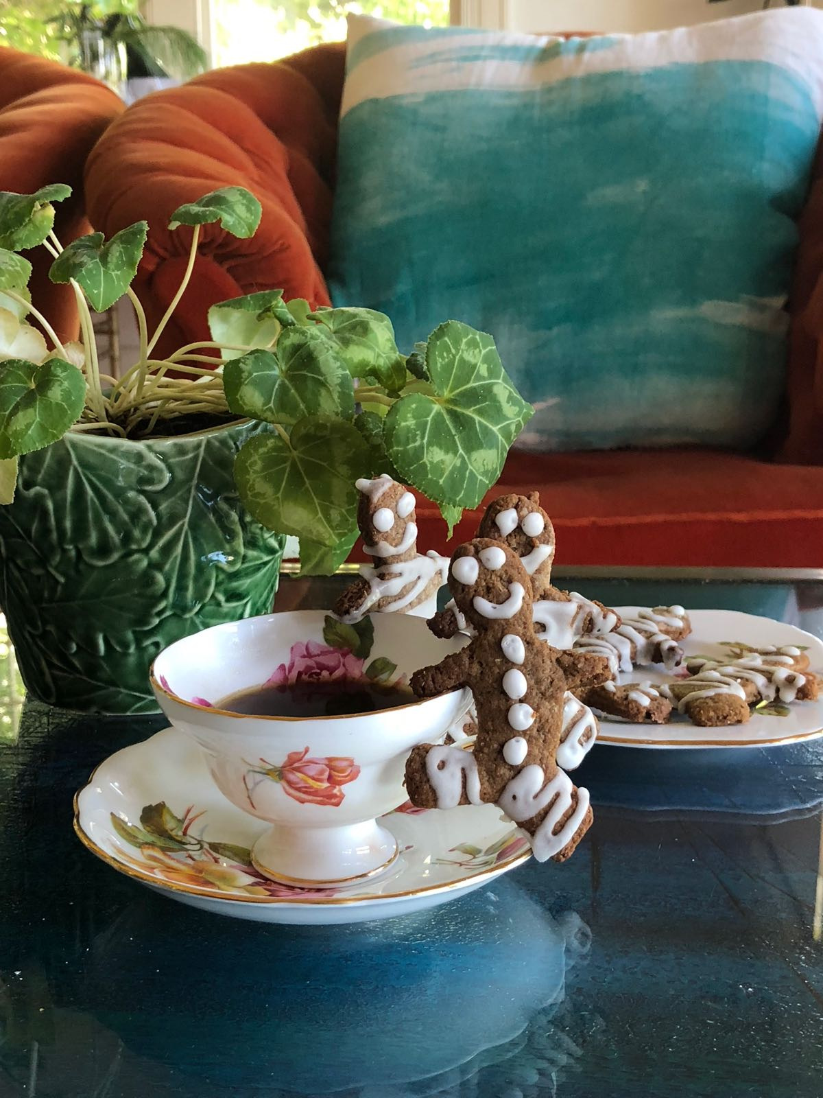 simple recipe for wholemeal gingerbread men dairy free vegan