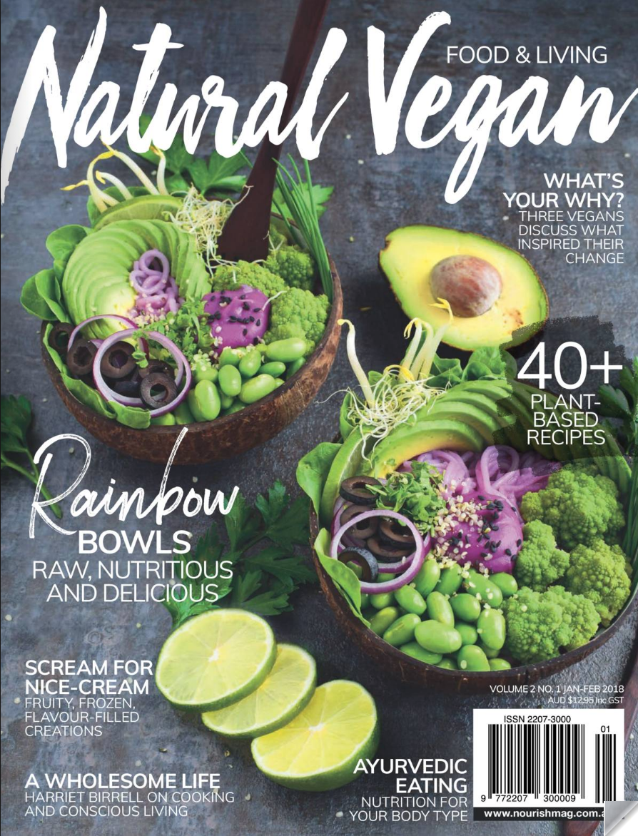 Natural Vegan Magazine - Need a gift for somebody who LOVES to cook? Then a subscription to this fabulous magazine might just hit the spot. We're loving both the variety of wholefood vegan recipes + the enticing photography which focusses on the colourful nature of plant-based cuisine.