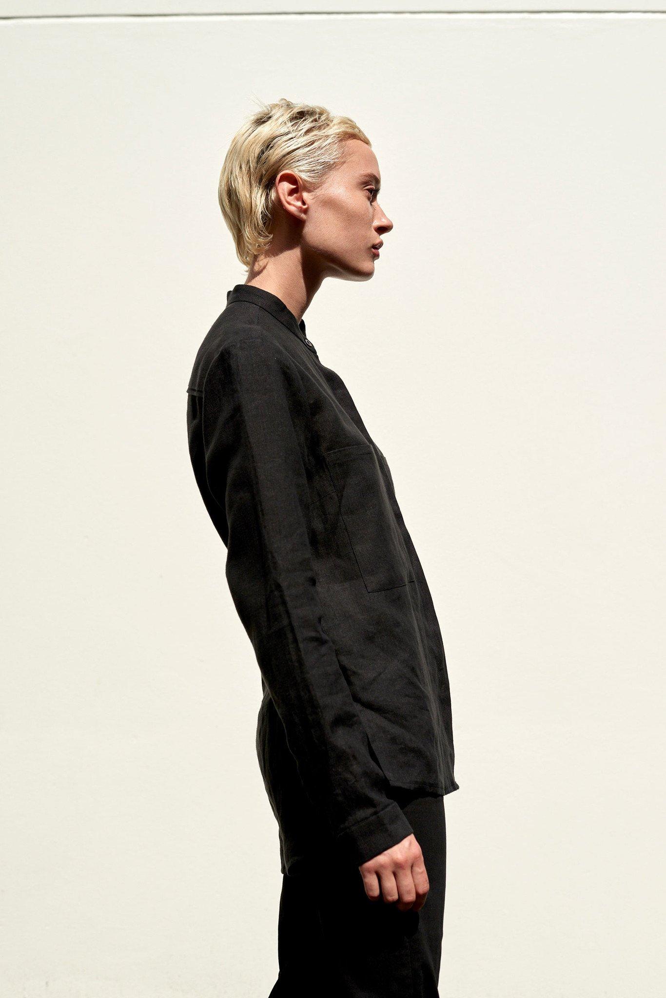 ABCH_black linen shirt made in Australia.jpg