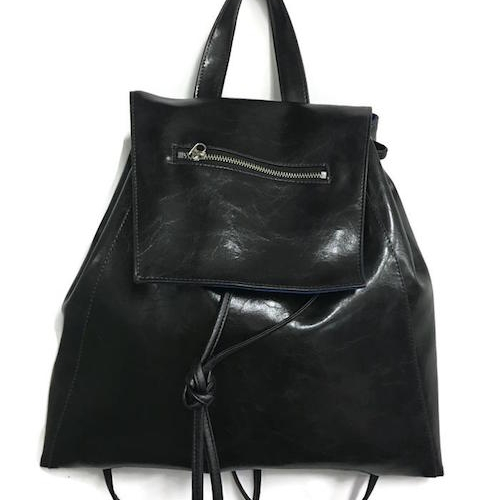 Crystalyn Kae - Made in the USA (New York City + Seattle). Their vegan bags are made from glaze coated canvas (which is machine washable).[Heads up: CK also make some bags from recycled leather].