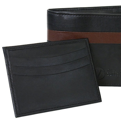 The Vegan Collection - Los Angeles based. Made under Ethical Fair Trade practices in India. Vegan Collection make wallets, card holders and belts.