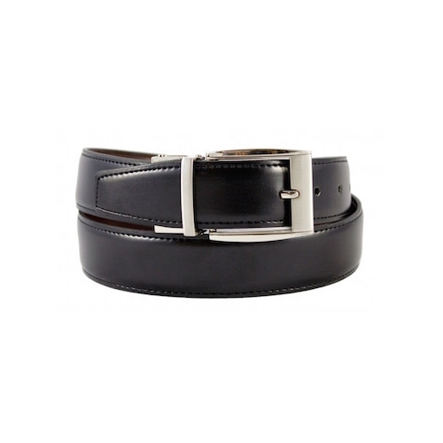 The Vegan Collection - Los Angeles based. Made under Ethical Fair Trade practices in India. Vegan Collection have a range of reversible belts (Alexander, Julian & Franklin styles), so you can get both a black and a brown belt in one. We love that kind of sustainable thinking!