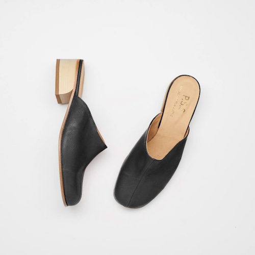 Post Sole Studio - This Melbourne made footwear brand can make any of their range with vegan materials. Their shoes are made to order.