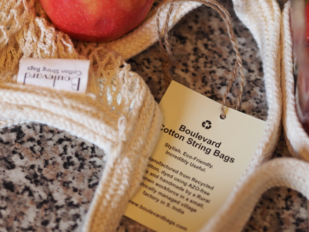 Going plastic free is easier if you have a stock of easily usable bags at the ready.