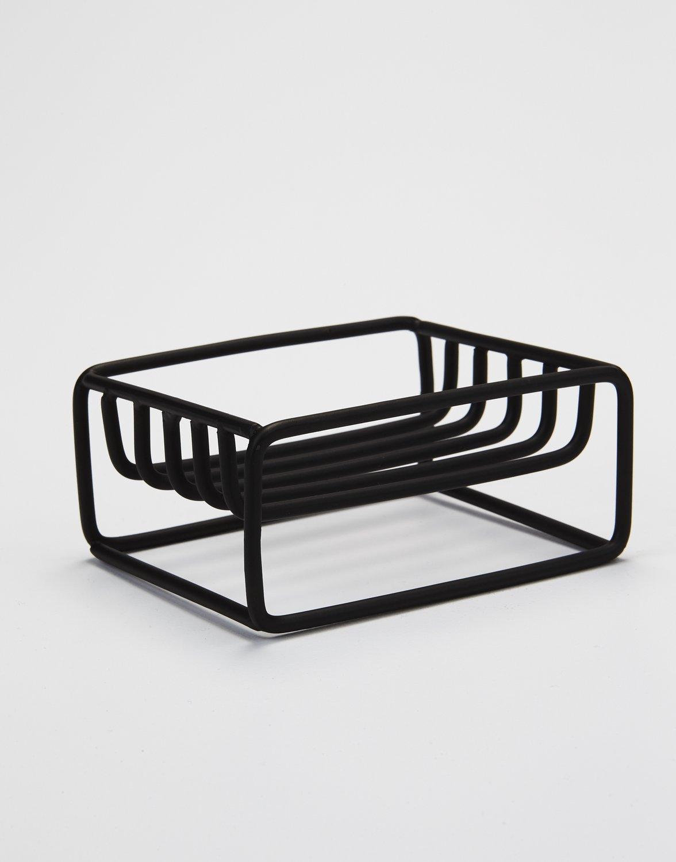 SAARDÈ black soap holder