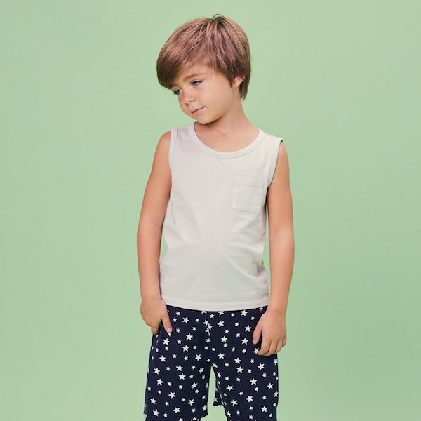 Beru Kids - Made in Los Angeles from deadstock and organic fabrics, such as organic cotton.