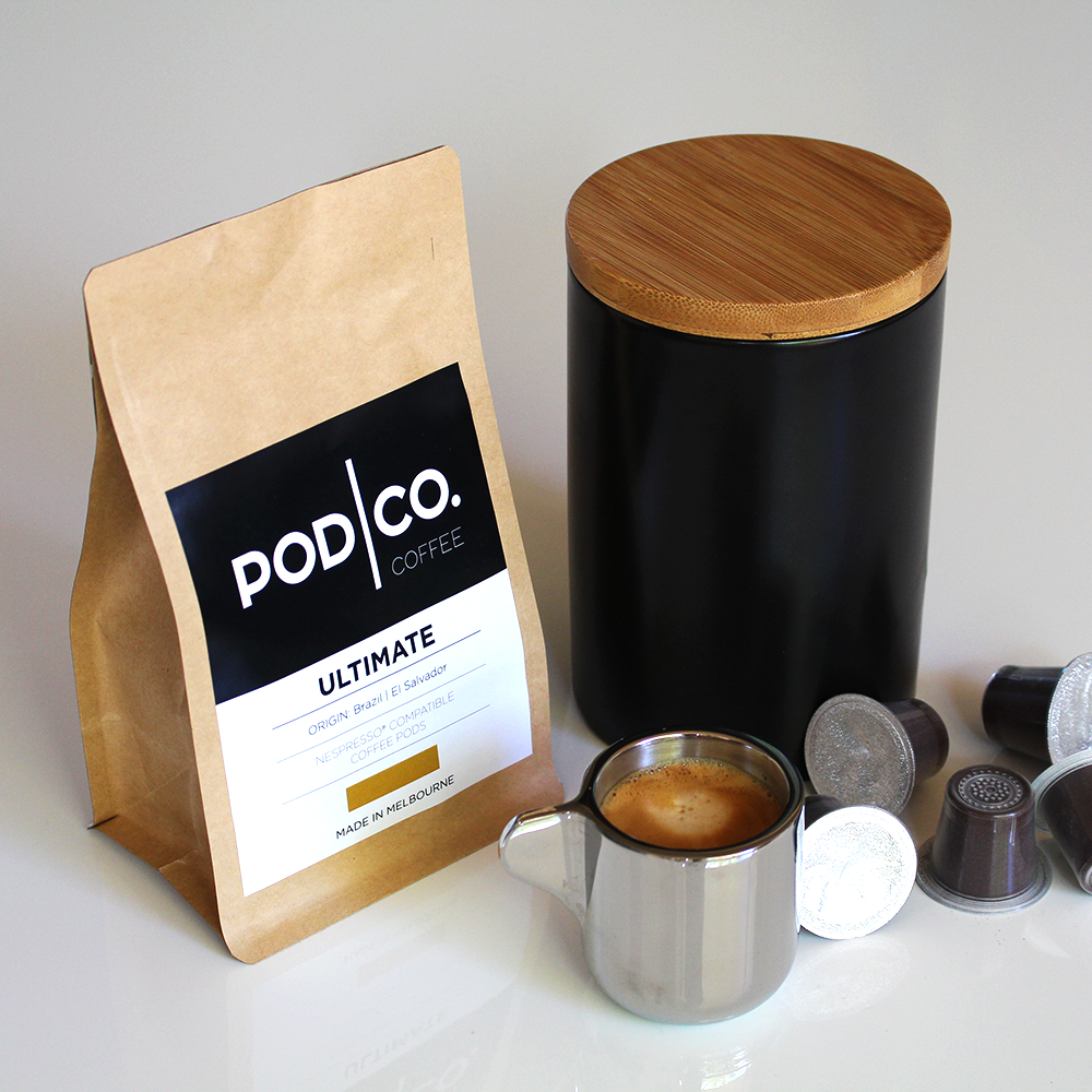 compostable coffee pods - Pods are made from plant materials, fully compostable and biodegradable in a commercial compost.Place foil lid in recycling & the pod itself in council bin compost.