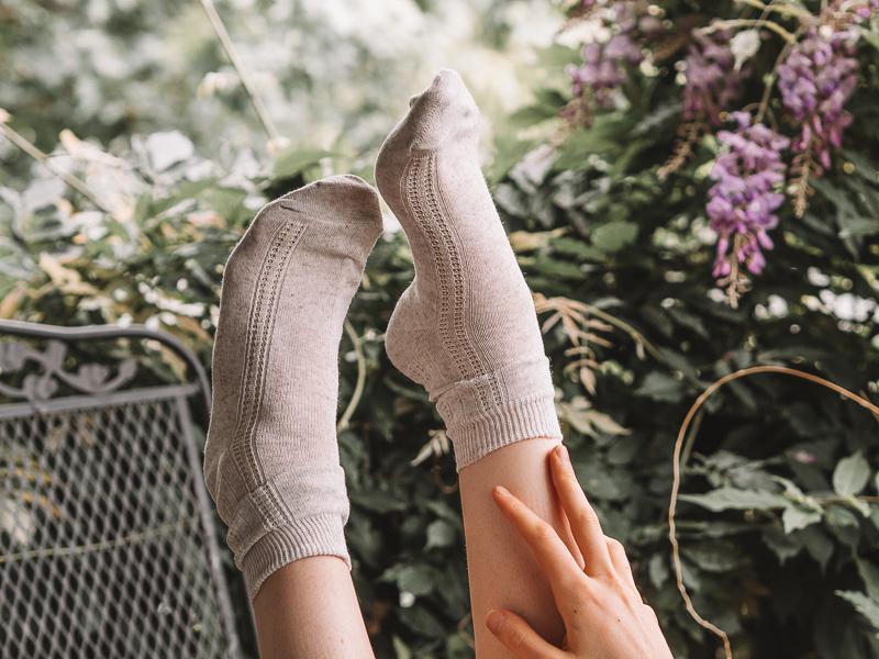 Ekoganix linen socks for men and women