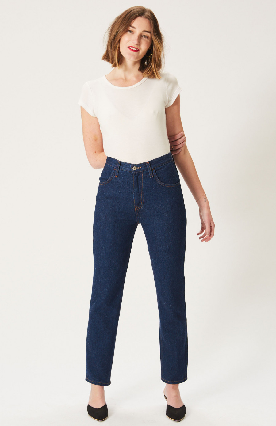 5. Hemp jeans - Sustainable style that's warm in heart and soul.