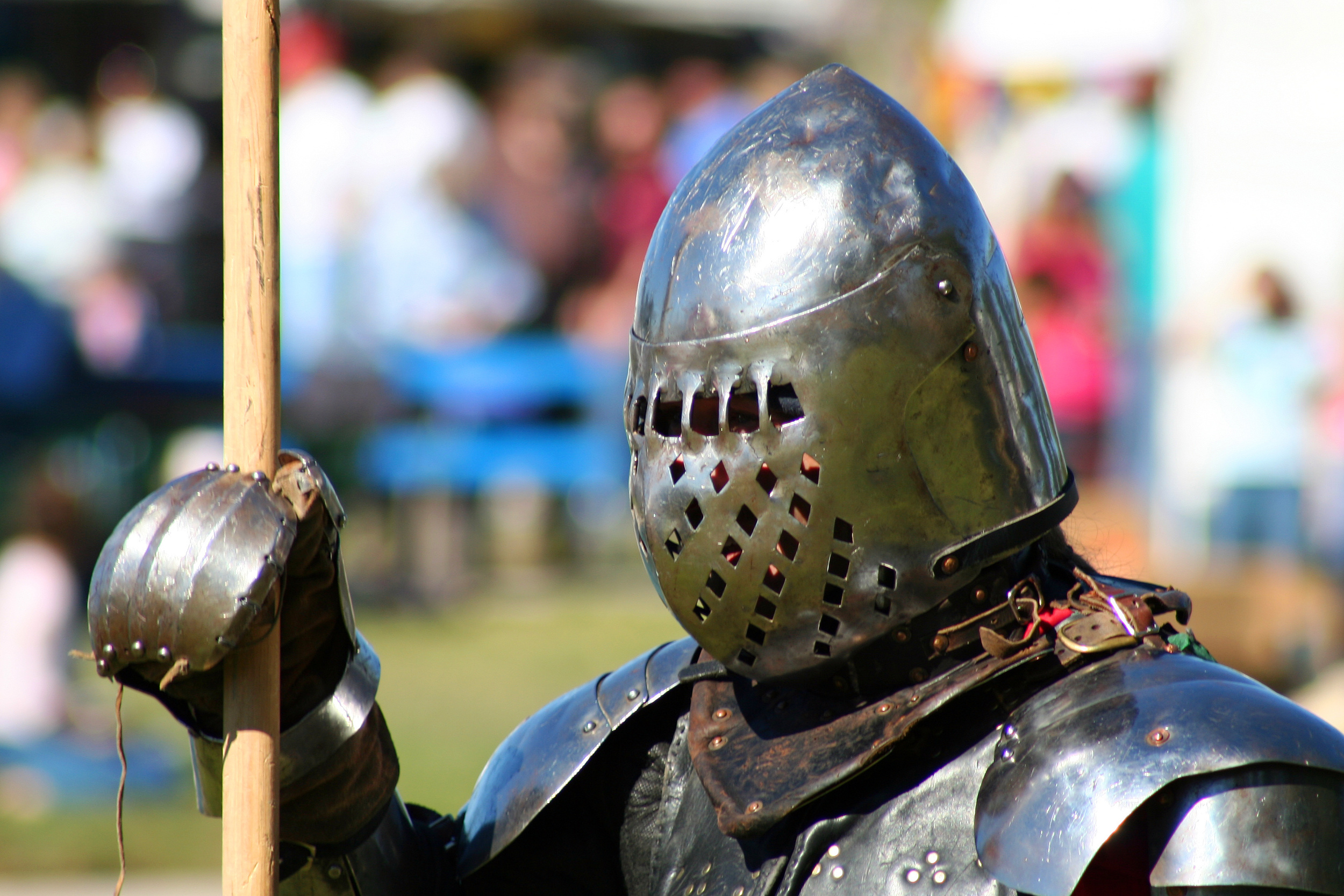You don't have to wear armor to enjoy mead!