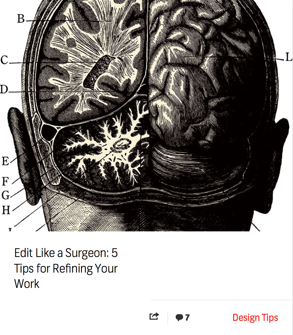 Blog: Edit Like a Surgeon