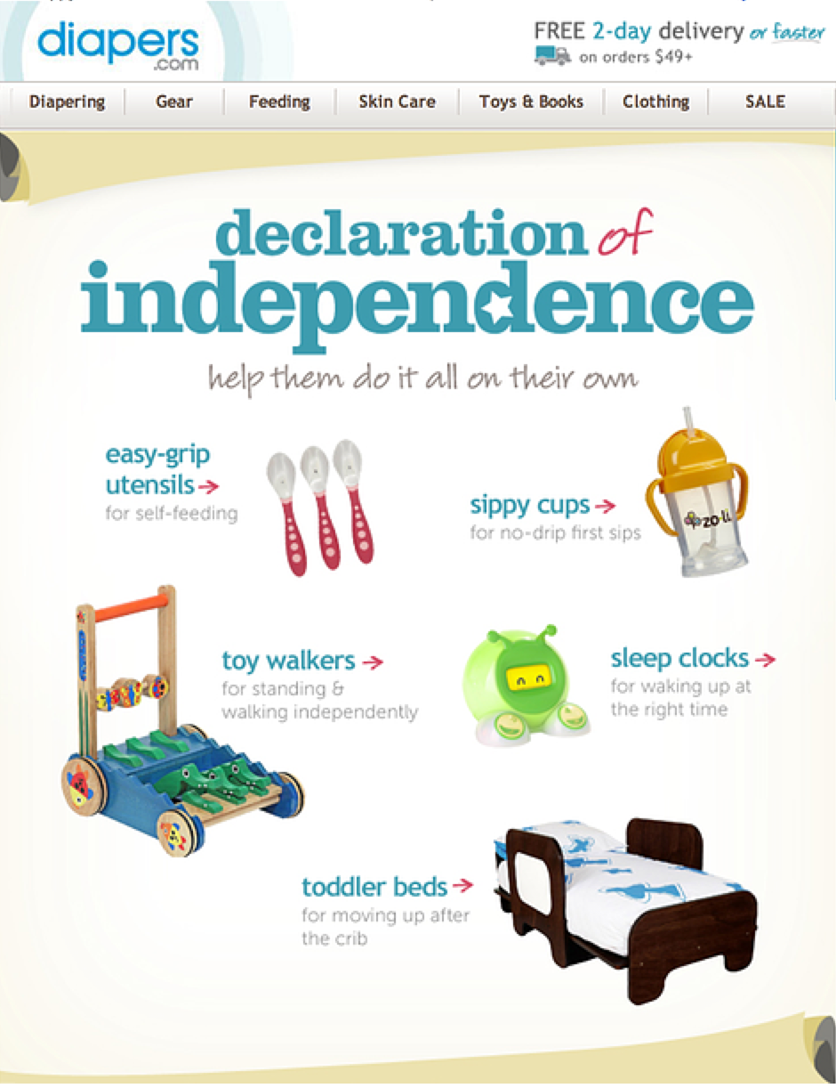 Email: Declaration of Independence