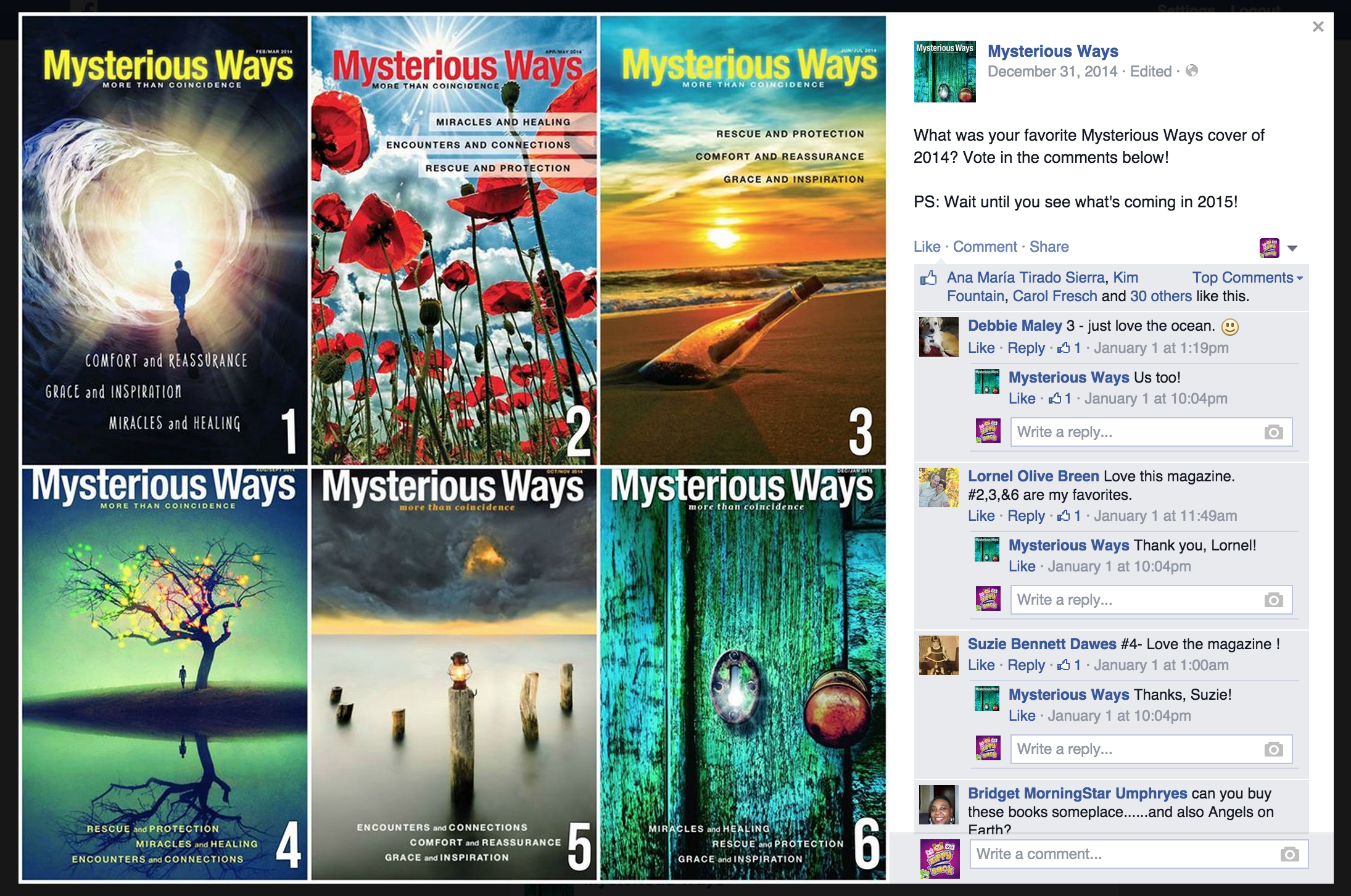 Facebook: Cover Contest