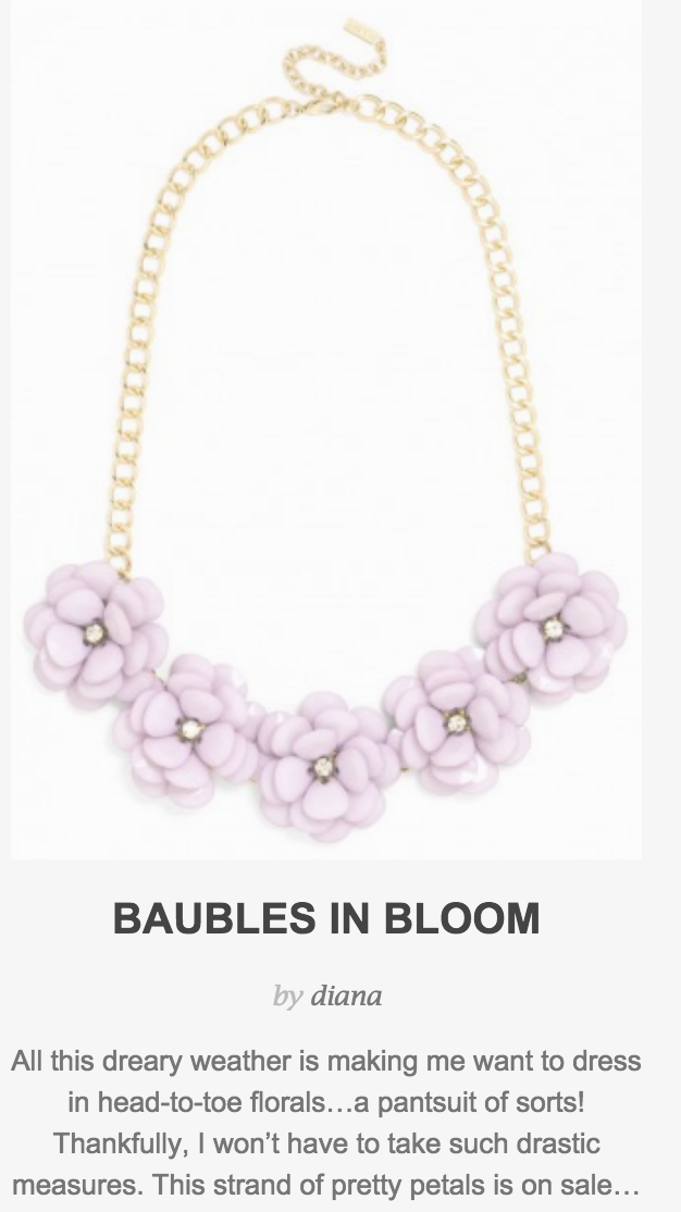 Baubles in Bloom