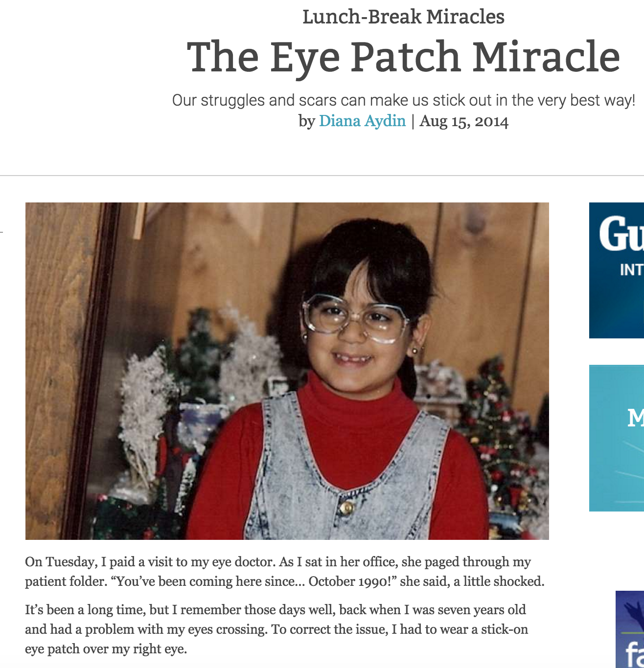 The Eye Patch Miracle