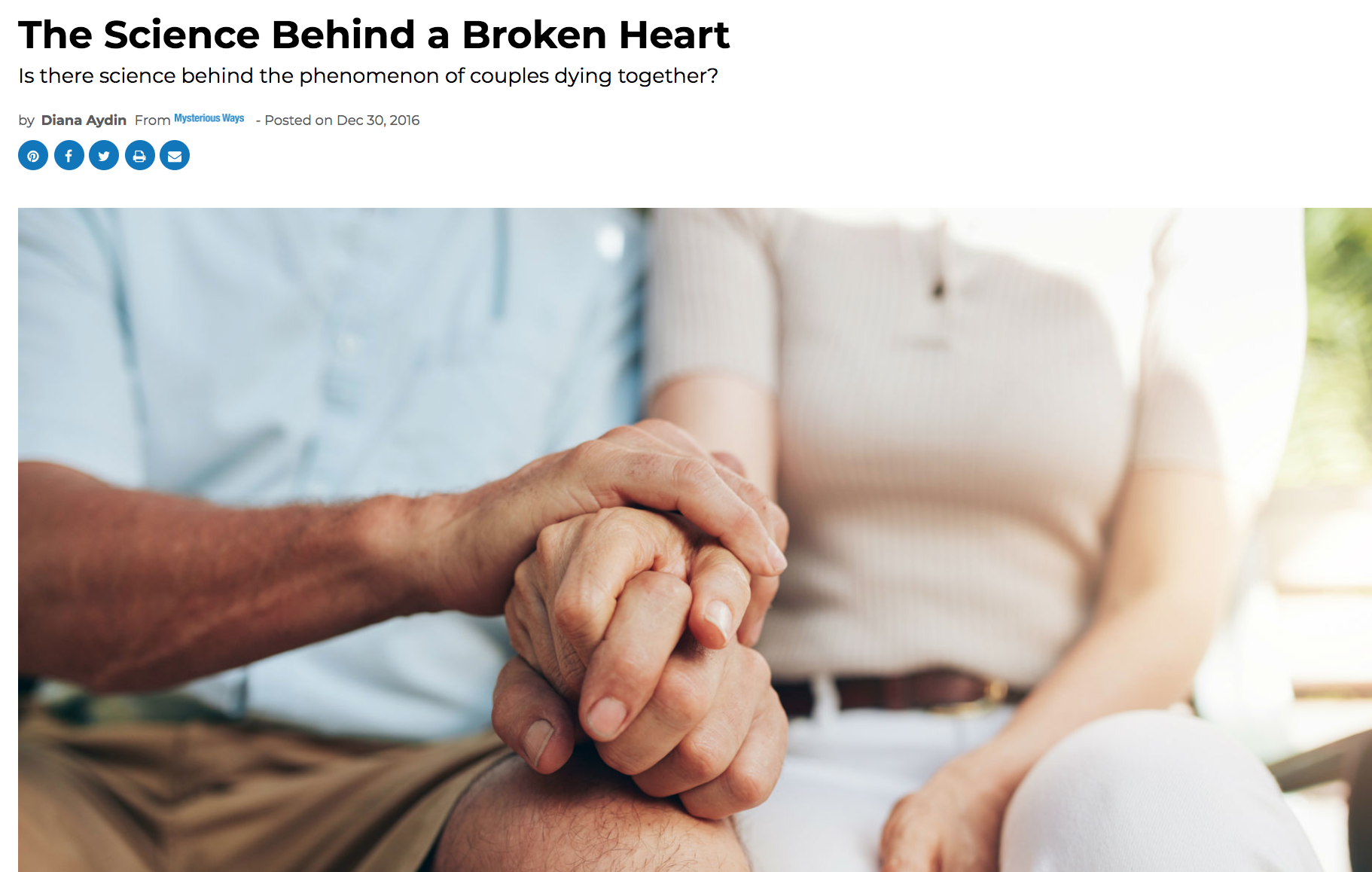 The Science Behind a Broken Heart