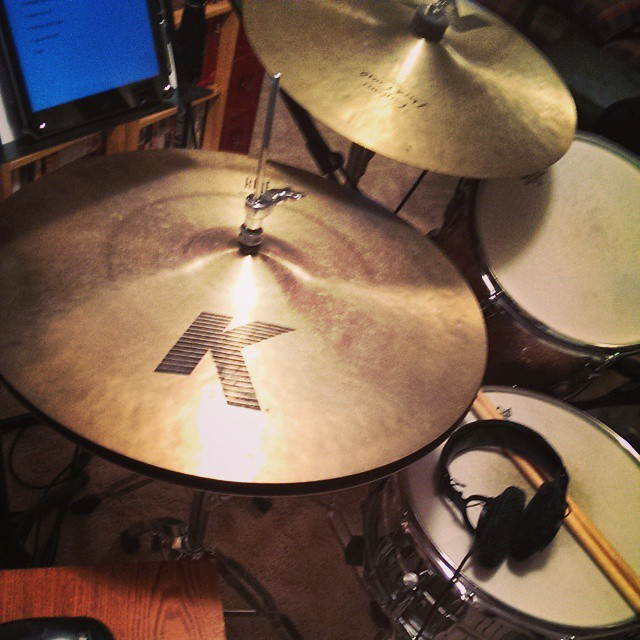 """What do you know about 20 inch hi hats."" - Brian Yost via Instagram on Nov. 14th, 2014"