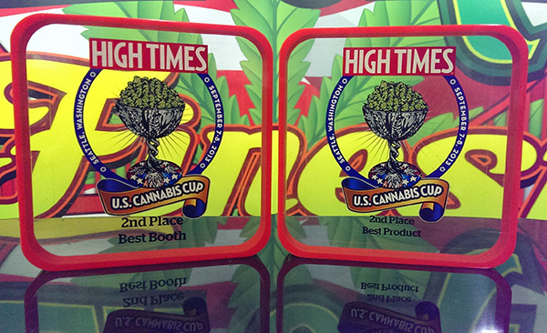 California Finest Picks Up Two Second Place Wins for Best New Product and Best Booth at 2013 Seattle High Times Cannabis Cup