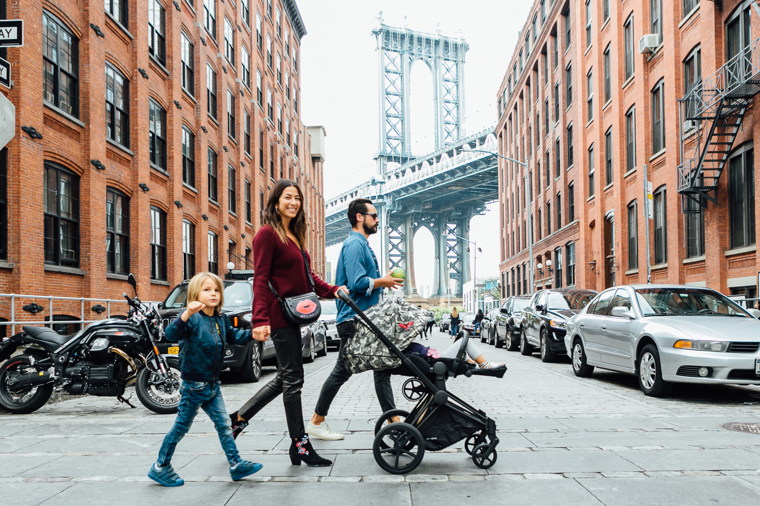 Brooklyn family lifestyle photographer Syed Yaqeen