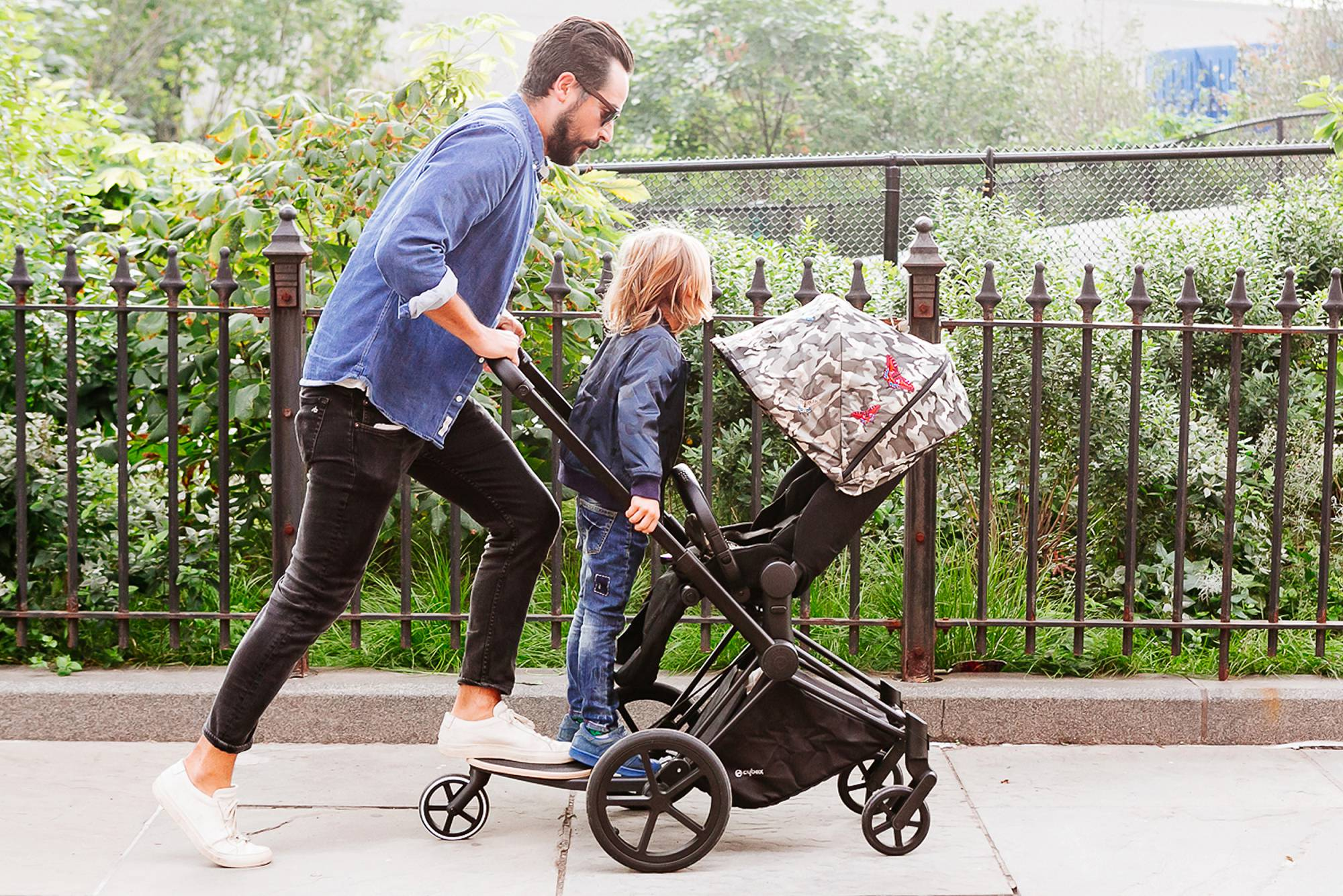 NYC lifestyle commercial photography   baby product