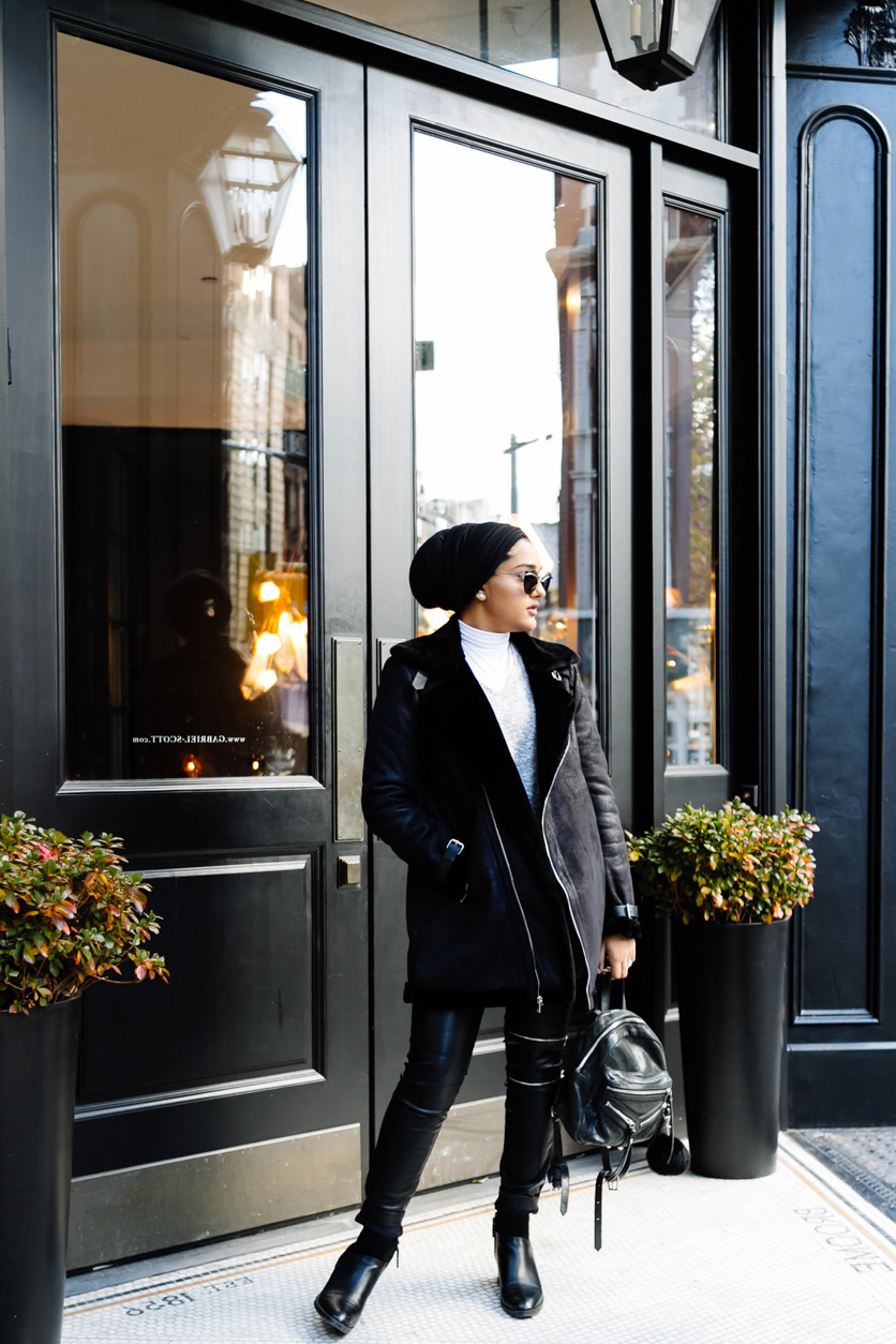 NYC street style | modest fashionista