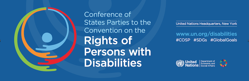 the Conference of States Parties to the CRPD The UN Programme on Disability Secretariat for the Convention on the Rights of Persons with Disabilities.png