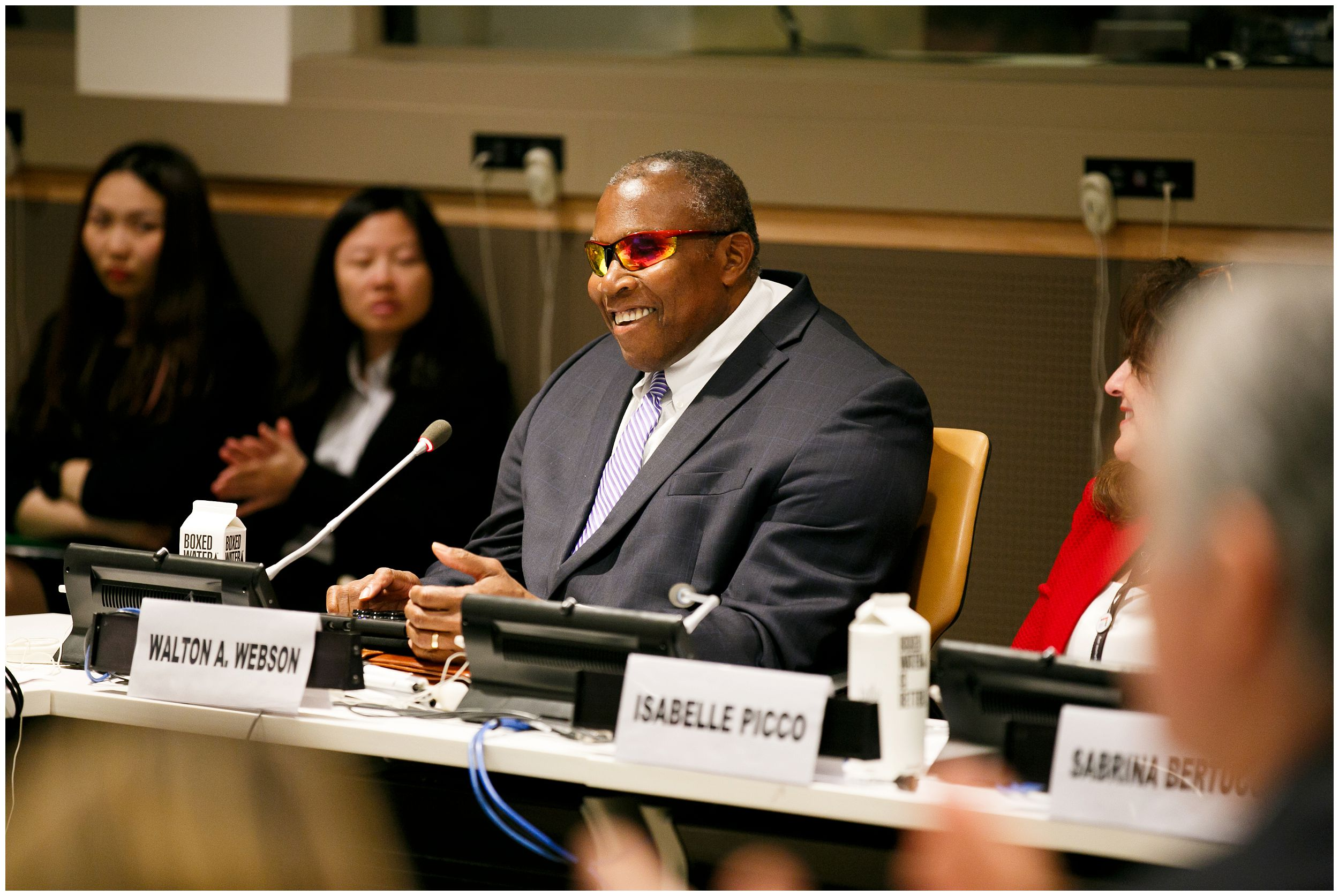 H.E. Mr. Walton Alfonso Webson, Ambassador, Permanent Mission of Antigua and Barbuda to the United Nations