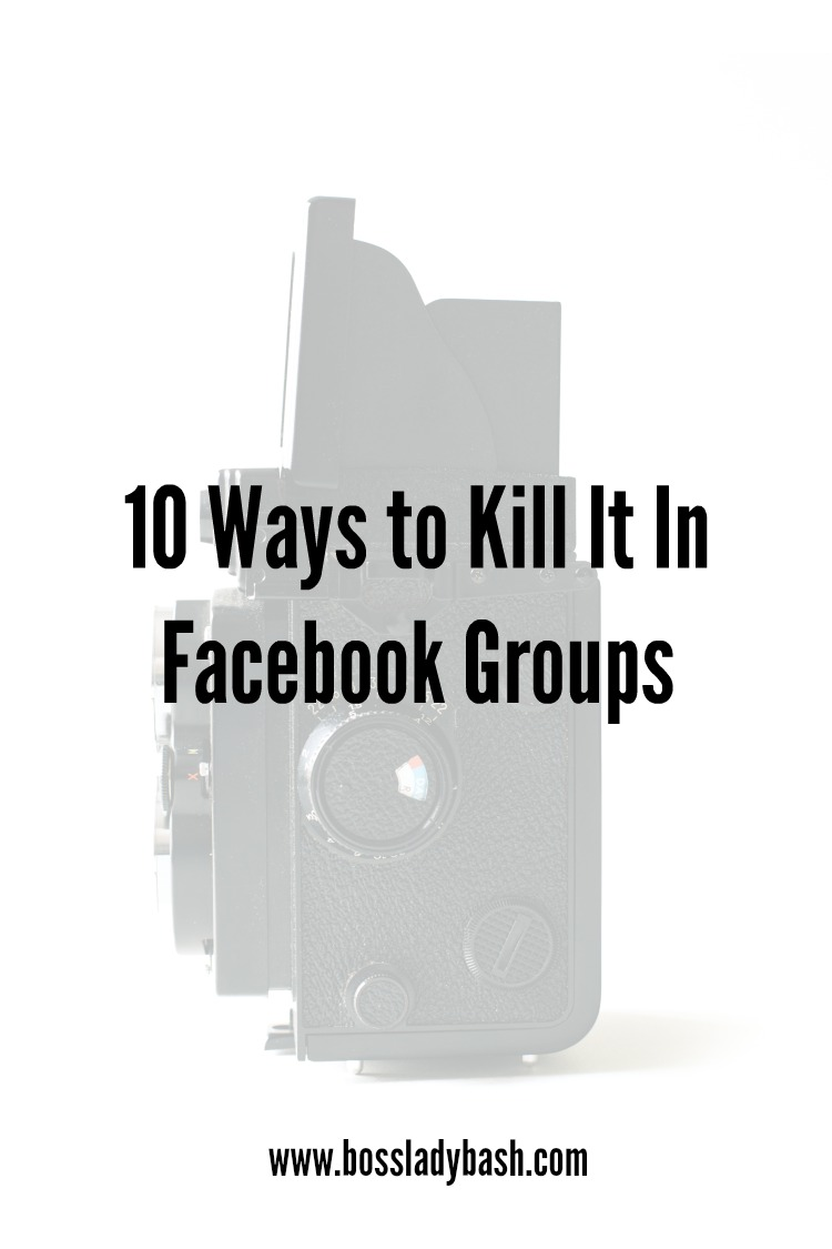 How to get noticed in Facebook Groups