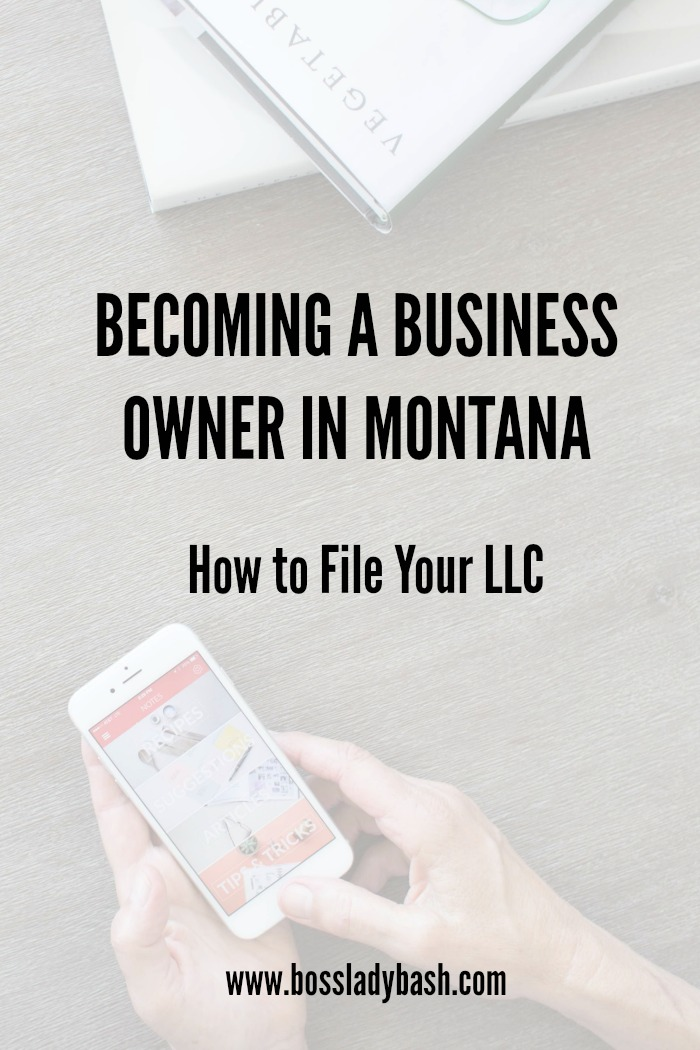 Owning a business in Montana can be tough. Here's the first step to legit business-hood!