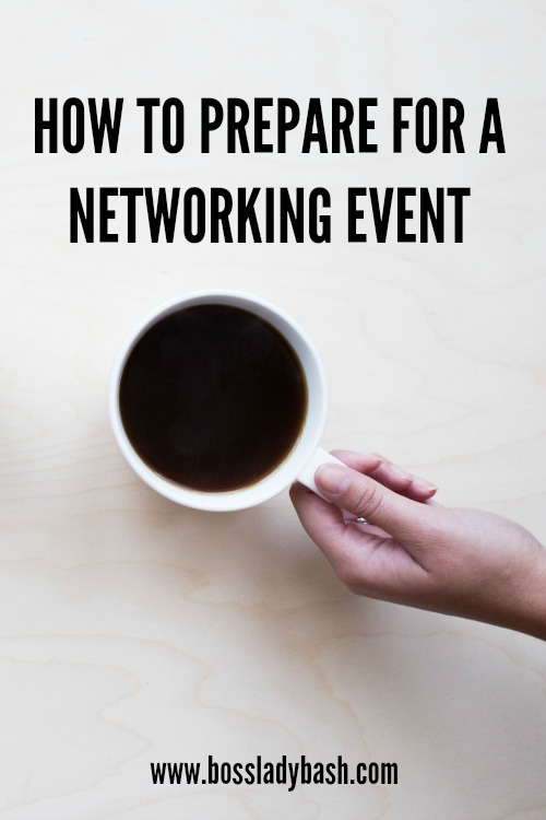 How to Prepare for a Networking Event that gets you clients and collaborators